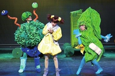 第六届北京儿童戏剧季:中国儿童艺术剧院儿童剧《魔方大厦》