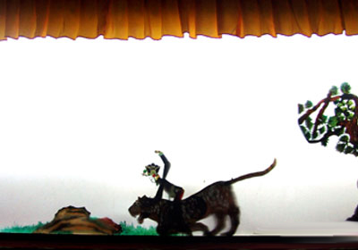 中国木偶剧院皮影戏《三邻居》《狐狸和乌鸦》《武松