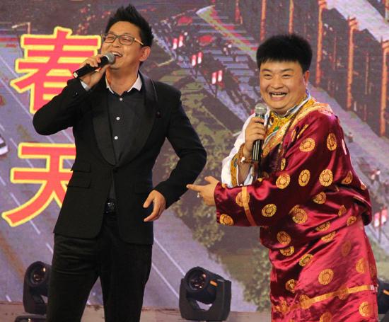 互动 演出内容节目单: 第一场 主持人:中国广播艺术团当家主持  侯林图片