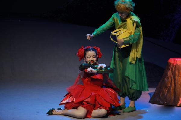 法中交流剧目童话剧《小王子》