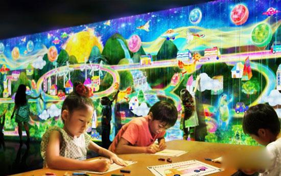 teamlab:花舞森林与未来游乐园