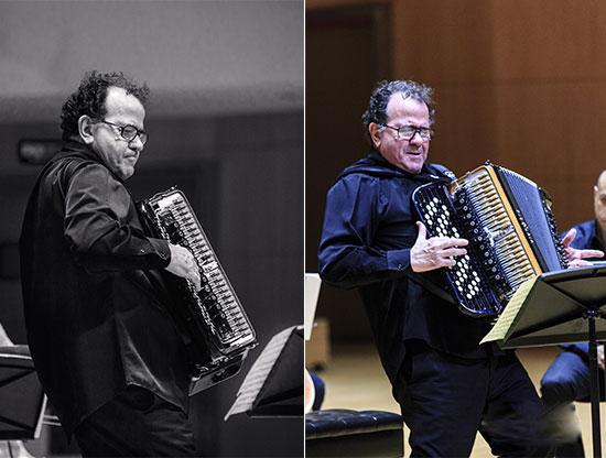 手风琴大师理查盖利安诺五重奏音乐会——纪念皮亚佐拉逝世25周年世界