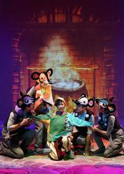 中国儿童艺术剧院 多媒体儿童剧《小布头奇遇记》