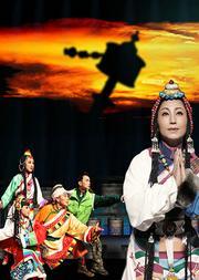 原创大型儿童京歌音乐大剧《藏羚羊》