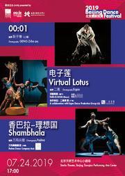 2019北京舞蹈双周《0001》《电子莲》《香巴拉-理想国》