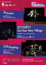 2019北京舞蹈双周《涡》《桂花园新村》《浮流》