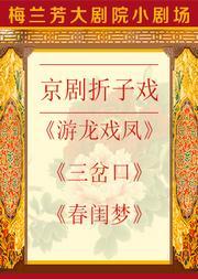 京剧折子戏《游龙戏凤》《三岔口》《春闺梦》